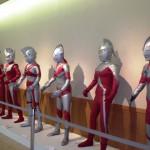 ウルトラマン創世記展示会館内記念撮影コーナー