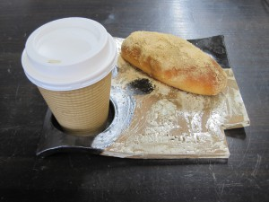 あげぱん&コーヒー